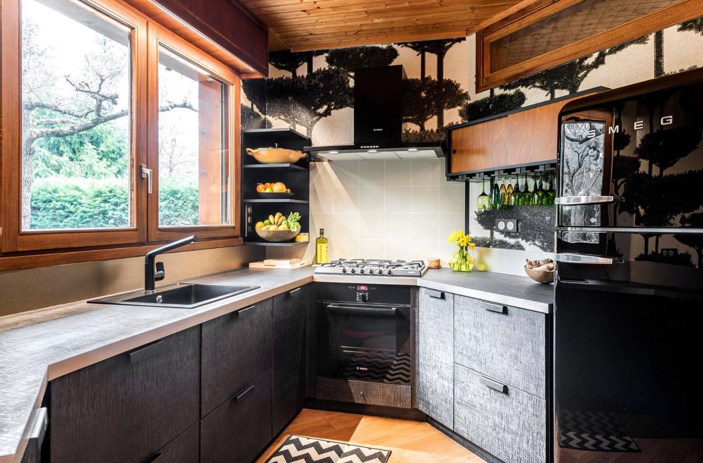 Дизайн кухни в частном доме – актуальные идеи оформления