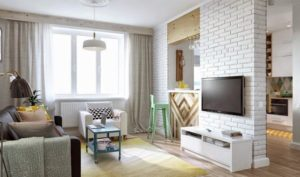 Какими бывают перегородки для зонирования пространства в комнате?