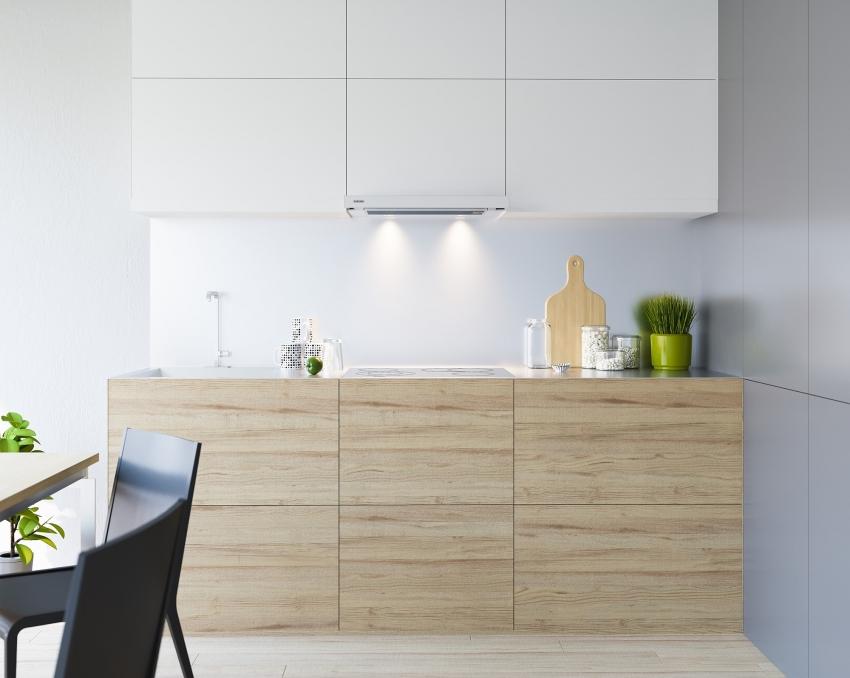Встраиваемая вытяжка для кухни: лучшее решение для очистки воздуха