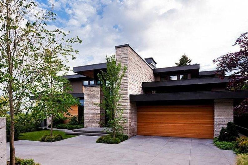 красивый дом в современном стиле фото