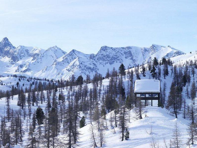 Маленькое шале в Альпах