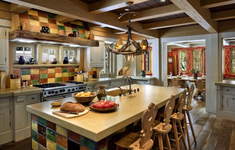 Фото - Французский флер на кухне