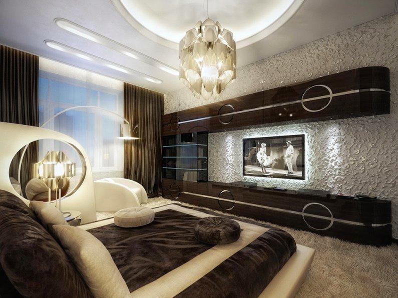 модные спальни 2016 фото