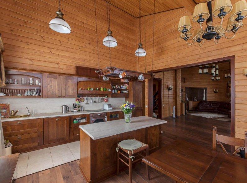 Ремонт стен на кухне: фото, своими руками