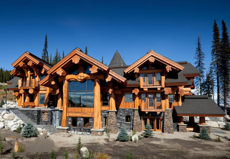 Log home designs