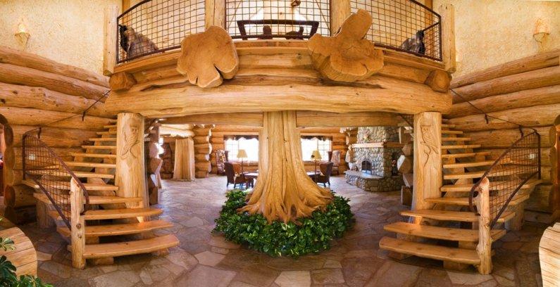 Домики из дерева видео