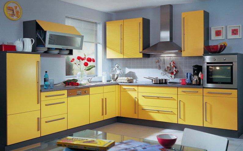 Выбираем цвет кухни - фото